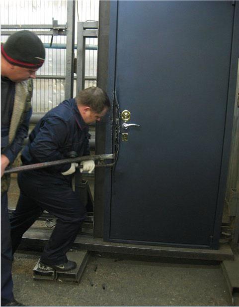 металлические двери с гарантией от взлома